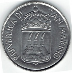 Монета > 100лір, 1973 - Сан-Марино  - reverse
