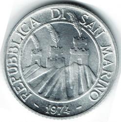 Moneda > 2lire, 1974 - San Marino  - reverse