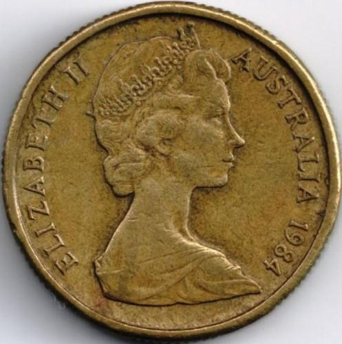 1 Dollar 1984 Australia Coin Value