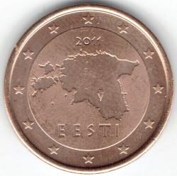 Munt > 2eurocent, 2011-2018 - Estonië  - obverse