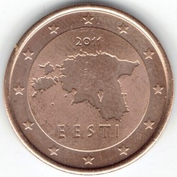 Munt > 2eurocent, 2011-2018 - Estonië  - reverse