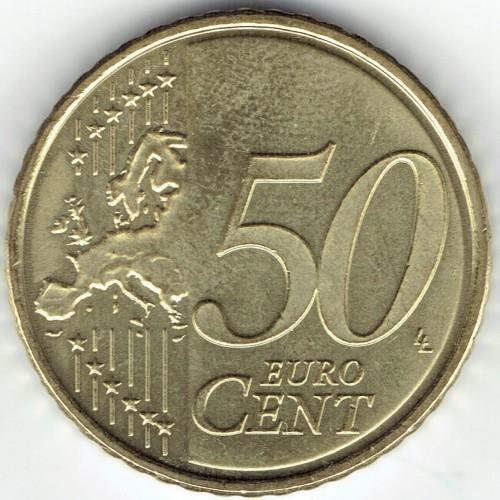 50 Eurocent 2011 2018 Estland Münzen Wert Ucoinnet