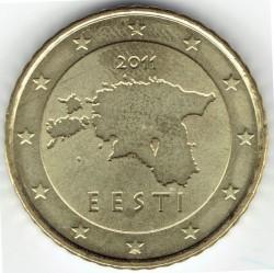 Munt > 50eurocent, 2011-2018 - Estonië  - reverse