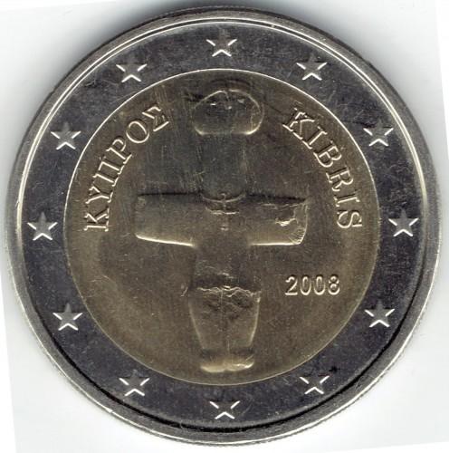 2 Euro 2008 2018 Zypern Münzen Wert Ucoinnet