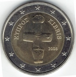Монета > 2евро, 2008-2018 - Кипр  - reverse