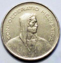 Moneta > 5franków, 1974 - Szwajcaria  - obverse