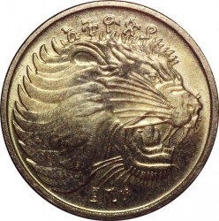 Moneda > 10santeem, 1977-2012 - Etiopía  - reverse