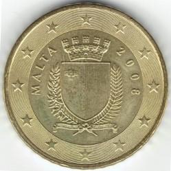 錢幣 > 50eurocent, 2008-2018 - 馬爾他  - obverse