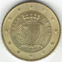 錢幣 > 50分, 2008-2017 - 馬爾他  - reverse