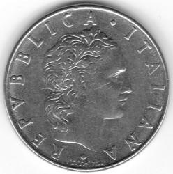 Moneda > 50liras, 1954-1989 - Italia  - obverse