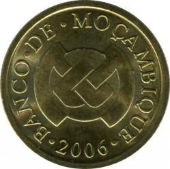 Coin > 20centavos, 2006 - Mozambique  - reverse