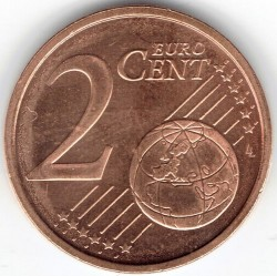 Coin > 2 cents, 2002 - Ireland  - obverse