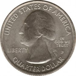 Moneda > 25centavos(cuarto), 2011 - Estados Unidos  (Gettysburg National Military Park Quarter) - obverse