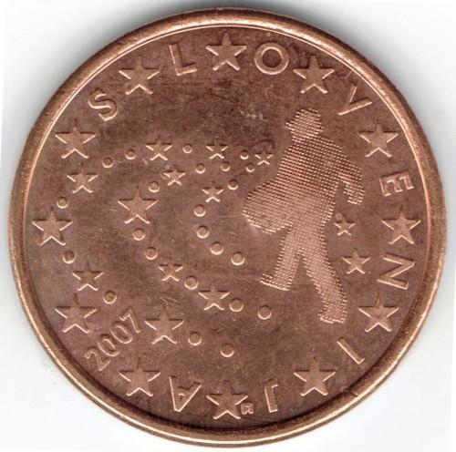5 Eurocent 2007 2017 Slowenien Münzen Wert Ucoinnet