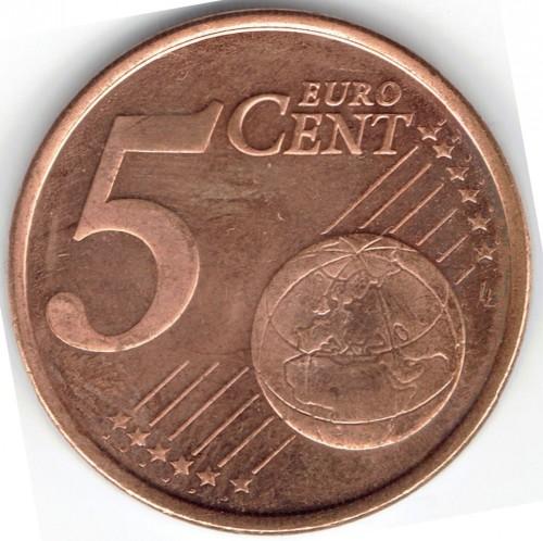 16ba668a65 5 centesimi di euro 2007-2019, Slovenia - Valore della moneta ...