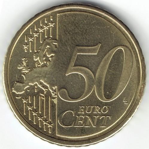 50 centesimi 2007 2017 slovenia km 73 catalogo for Moneta 50 centesimi