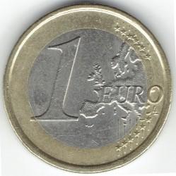 Монета > 1евро, 2008-2018 - Италия  - obverse