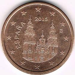Монета > 5центів, 2010-2017 - Іспанія  - obverse