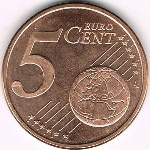5 Eurocent 2010 2018 Spanien Münzen Wert Ucoinnet