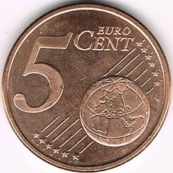 Монета > 5центів, 2010-2017 - Іспанія  - reverse