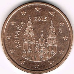 Coin > 5eurocent, 2010-2019 - Spain  - reverse