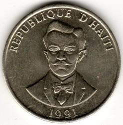 Монета > 20сантимів, 1986-1991 - Гаїті  - reverse