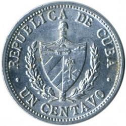 Monēta > 1sentavo, 1963-1982 - Kuba  - reverse
