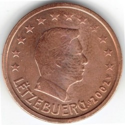 מטבע > 2סנט, 2002-2018 - לוקסמבורג  - reverse