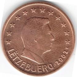 מטבע > 5סנטיורו, 2002-2018 - לוקסמבורג  - obverse