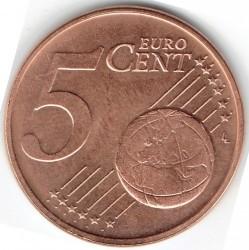 מטבע > 5סנט, 2002-2018 - לוקסמבורג  - reverse