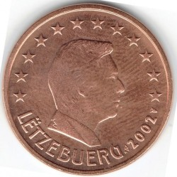 Coin > 5eurocent, 2002-2019 - Luxembourg  - reverse