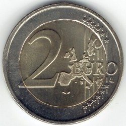 Кованица > 2евра, 2002-2006 - Луксембург  - obverse