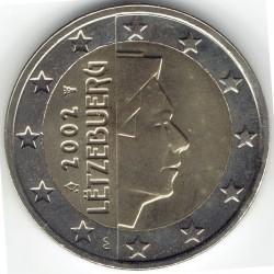 Moneda > 2euros, 2002-2006 - Luxemburgo  - obverse