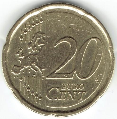 20 Eurocent 2007 2018 Luxemburg Münzen Wert Ucoinnet