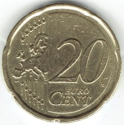 Монета > 20евроцента, 2007-2019 - Люксембург  - obverse
