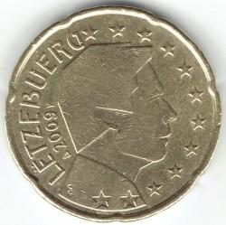 Монета > 20евроцента, 2007-2019 - Люксембург  - reverse