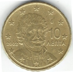 Minca > 10eurocentov, 2002-2006 - Grécko  - reverse