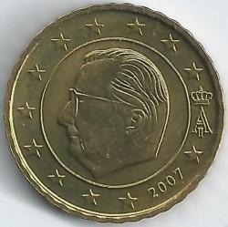 Monēta > 10centu, 2007 - Beļģija  - obverse