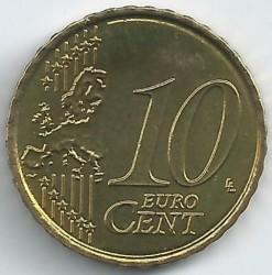Monēta > 10centu, 2007 - Beļģija  - reverse