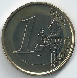 Monēta > 1eiro, 2007 - Beļģija  - reverse