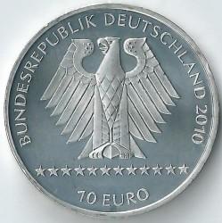 Moeda > 10euro, 2010 - Alemanha  (XLI Campeonato Mundial de Esqui Alpino, Garmisch-Partenkirchen 2011) - obverse