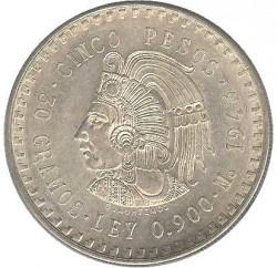 Moneda > 5pesos, 1947-1948 - México  - reverse