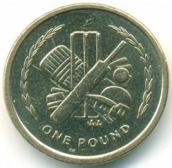 Moneda > 1libra, 1998-1999 - Isla de Man  - reverse