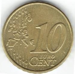 Монета > 10евроцента, 1999-2006 - Белгия  - obverse
