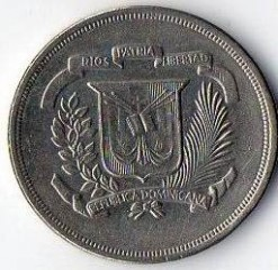 מטבע > 5סנטאבו, 1978-1981 - הרפובליקה הדומיניקנית  - reverse