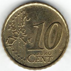 Coin > 10 cents, 1999 - Spain  - obverse