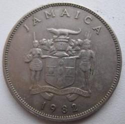 Münze > 25Cent, 1969-1990 - Jamaika  - obverse