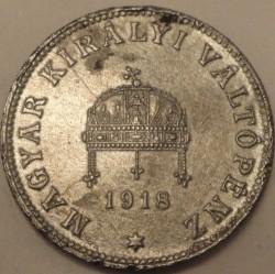 Moneda > 20fillér, 1918 - Hungría  - obverse