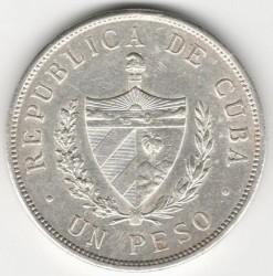 Monēta > 1peso, 1915-1934 - Kuba  - obverse