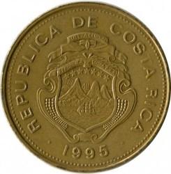 Монета > 25колонів, 1995 - Коста-Ріка  - obverse